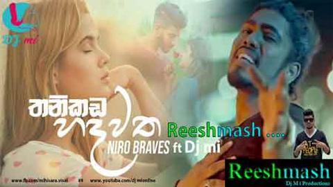 Thanikada Hadwatha reeshmash by dj mi sinhala remix free download